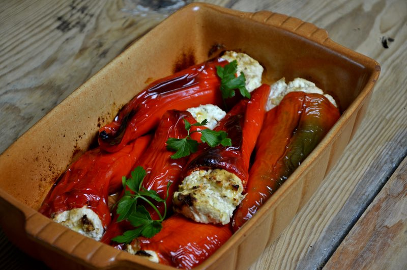 Stuffed Peppers - Food in Macedonia