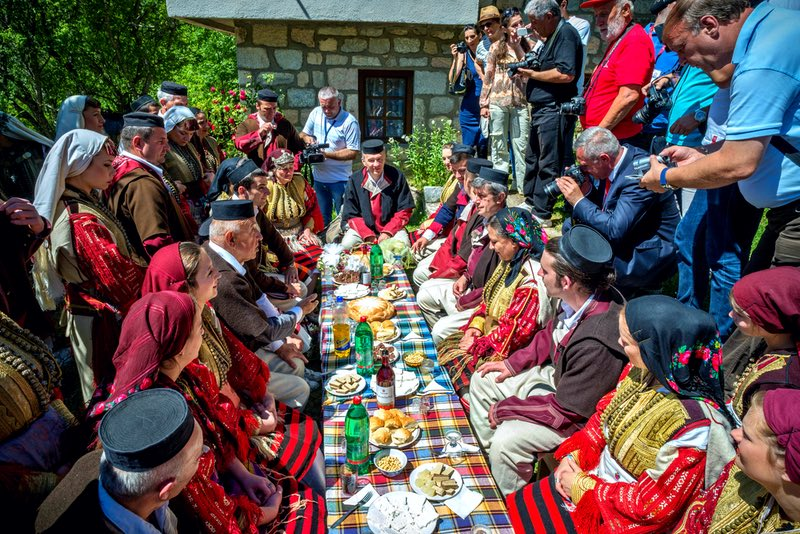 Свадебный фестиваль в Галичнике Македония