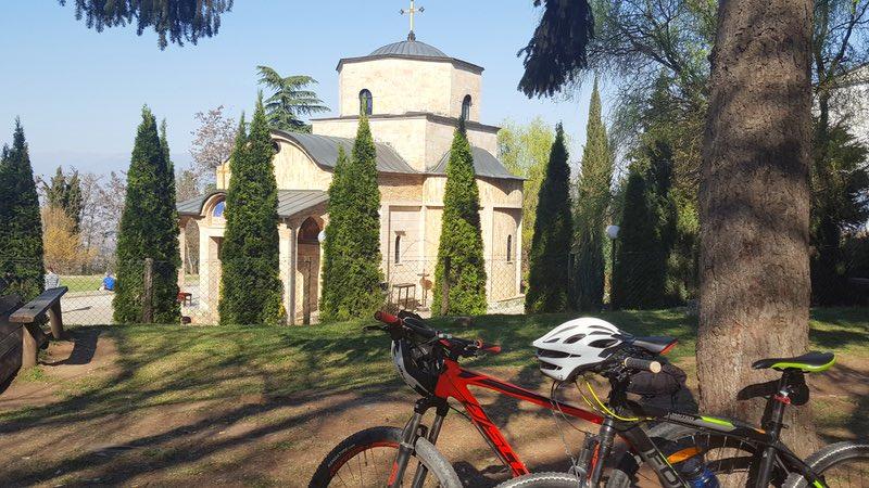 Езда на велосипеде по Македонии