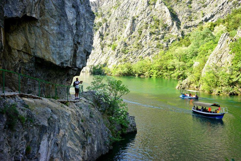 Знакомство с каньоном Матка