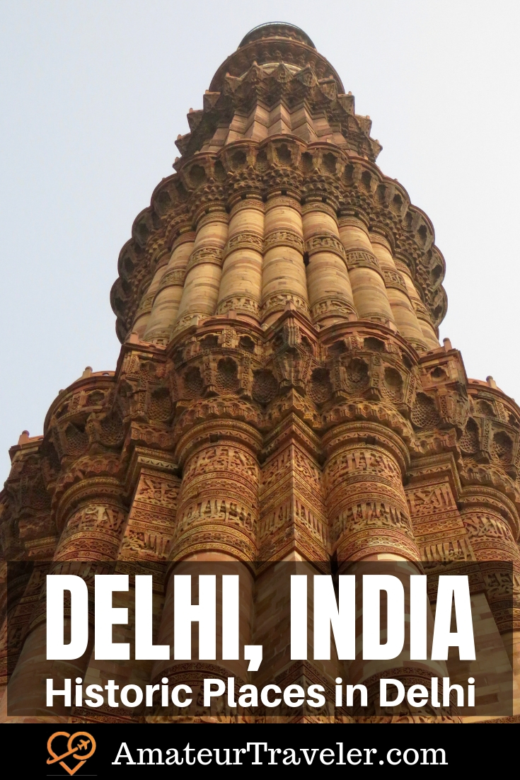 Historic Places in Delhi | What to See in Delhi India #india #delhi #history #travel #trip #vacation #photography #things-to-do-in #old #red-fort #monuments #architecture #lodhi-gardens #destinations #heritage-site #unesco