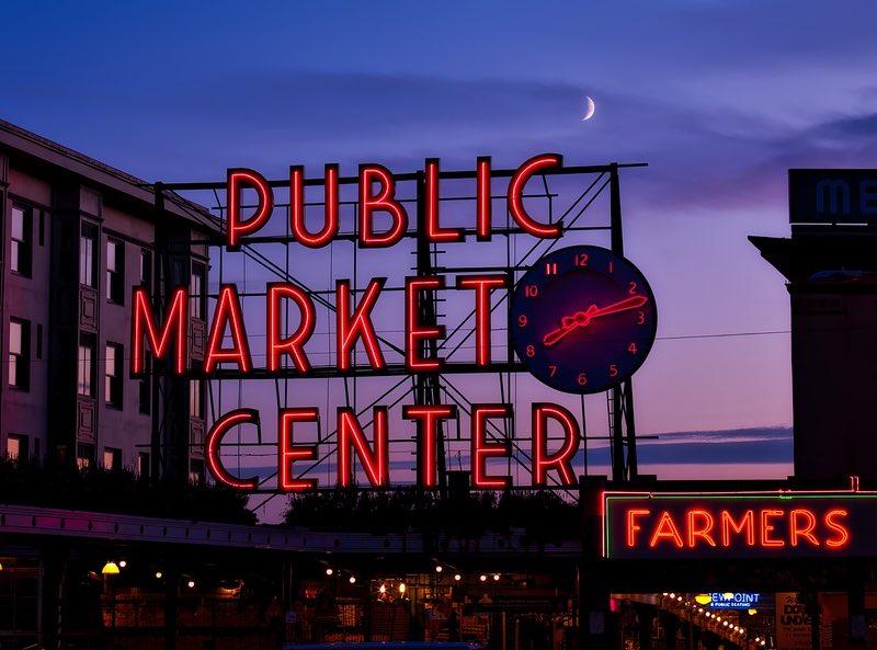 Pike Place Market Seattle