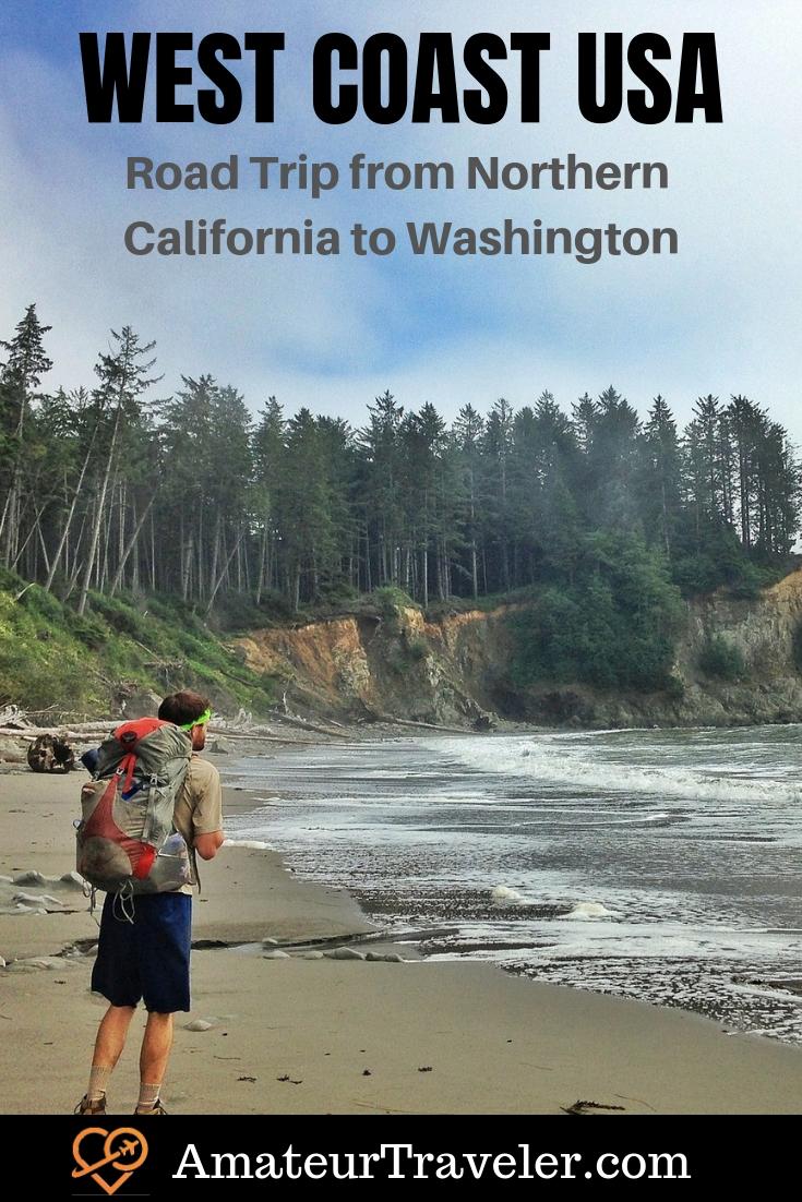 Batı Sahili ABD Yol Gezisi - Kuzey Kaliforniya'dan Washington'a # yol gezisi # yol # ipucu # yol # yolculuk # hava boşluğu #california #washington #oregon # milli parklar # olimpiyat-yarımada # deniz # liman # ülke # sahil # nehir kenarı # varış yerleri # ziyaret edilecek yerler