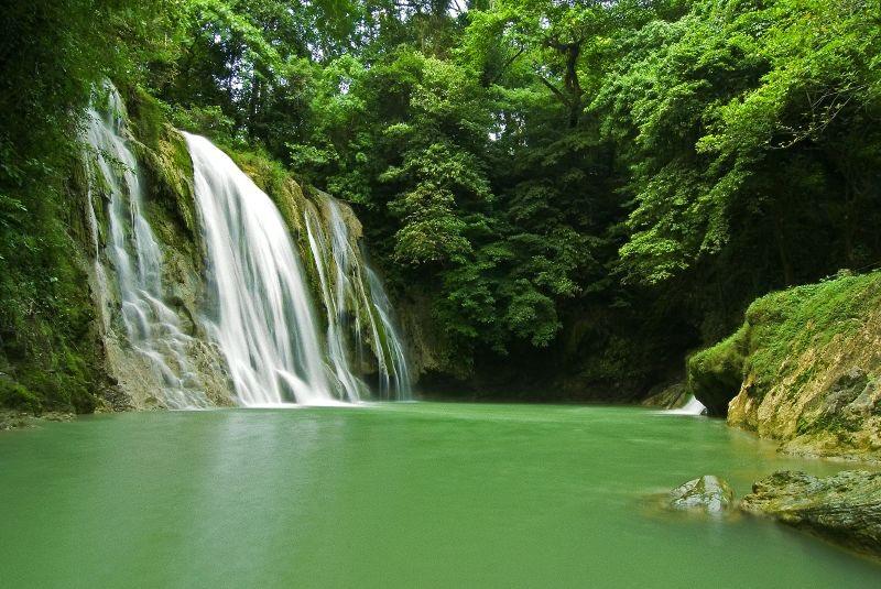 Daranak Şelalesi Filipinler