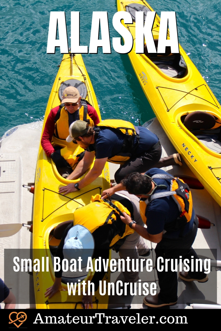 Small Ship Alaska Cruise with UnCruise Alaska - Kayaking, Wildlife and Bushwacking #travel #trip #vacation #alaska #juneau #cruise #excursions #adventure #kayak #hike #iceberg #glacier-bay #national-park