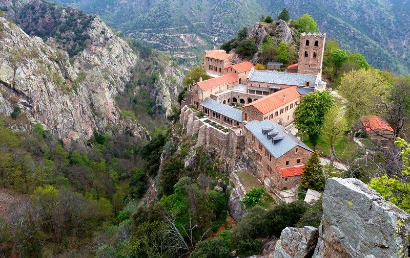 Abadía de Saint-Martin-du-Canigou