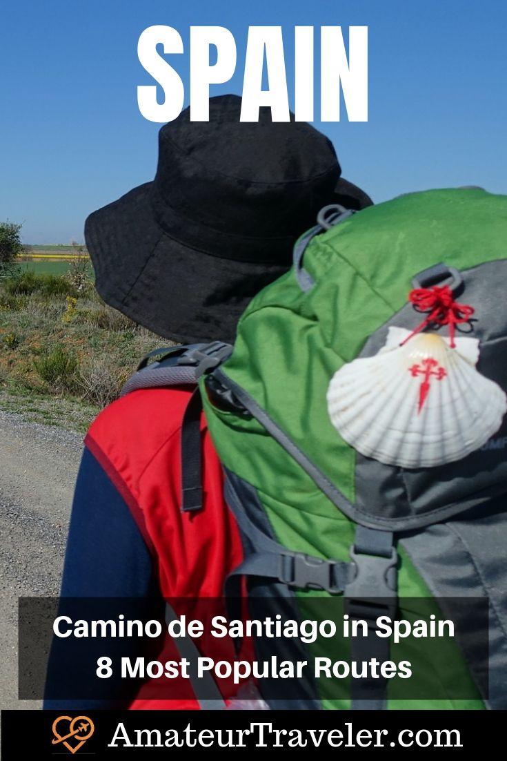 İspanya Camino de Santiago Rotaları - 8 En Popüler Rotalar #travel #trip #vacation #spain #camino # de-santiago #