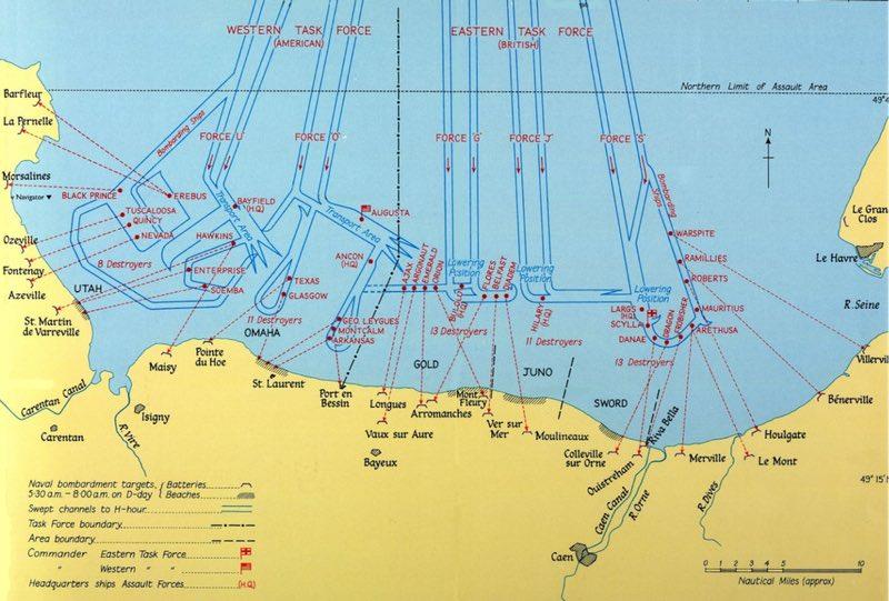 Normandiya Landings 6 Haziran 1944