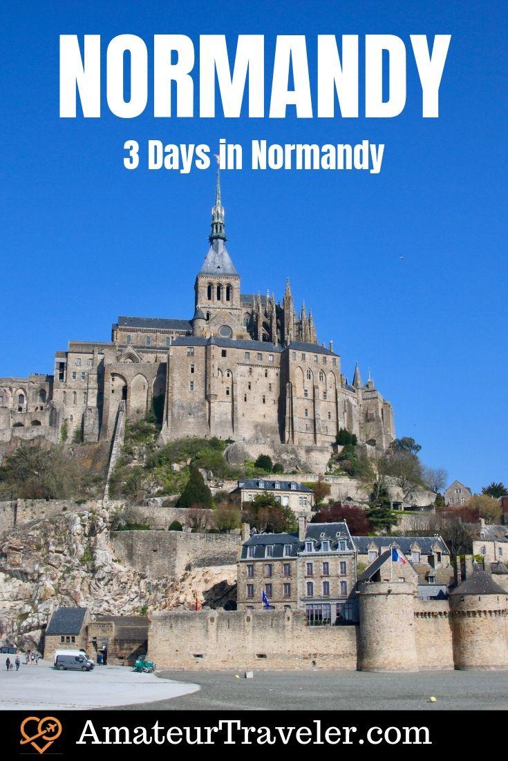 3 Gündüz Normandiya   Normandiya'da Ne Yapılır   Normandiya'da Görülmesi Gerekenler #travel #trip #vacation #france #normandy #beaches #invasion # d-day #rouen # ww2 #landings #itinerary #battle #cemetary #map #history