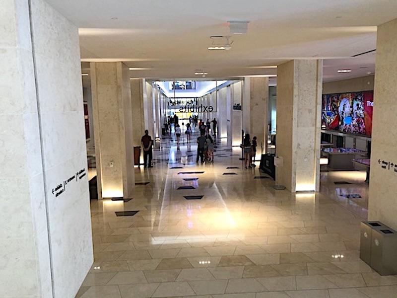 İncil Müzesi içindeki 1. Kat giriş alanı