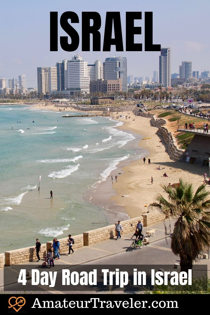 4 Day Road Trip in Israel - Biblical Sites, Ruins, Castles & Humus | What to see in Israel | What to do in Israel #israel #road-trip #itinerary #tel-aviv #jerusalem #acre #akko #haifa #nazereth #galilee #masada #what-to-do-in #cities #places #travel #trip #vacation #holy-land #history