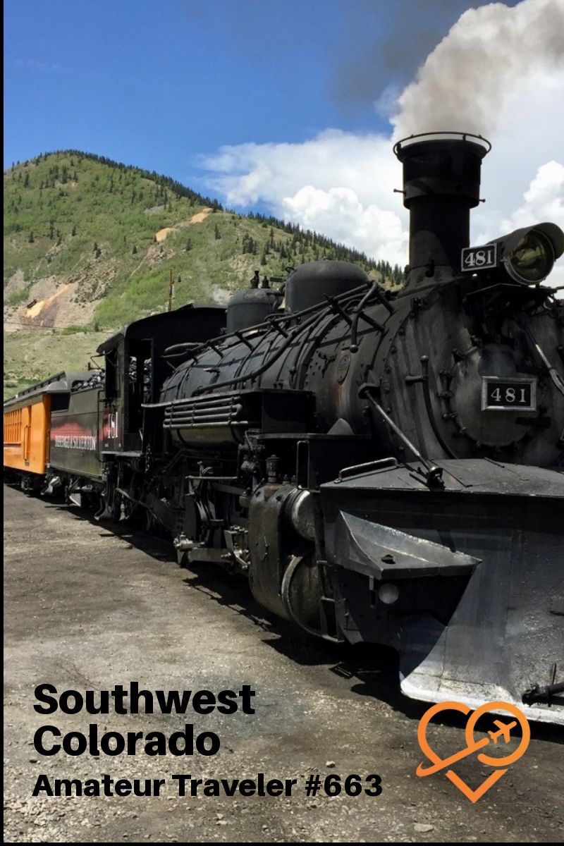 Travel to Southwest Colorado (Podcast) | What to do in Southwest Colorado | What to do in Duango and Silverton #colorado #durango #silverton #mesa-verde #chimney-rock #camping #travel #trip #vacation #what-to-do-in #restaurants #with-kids #train #hiking