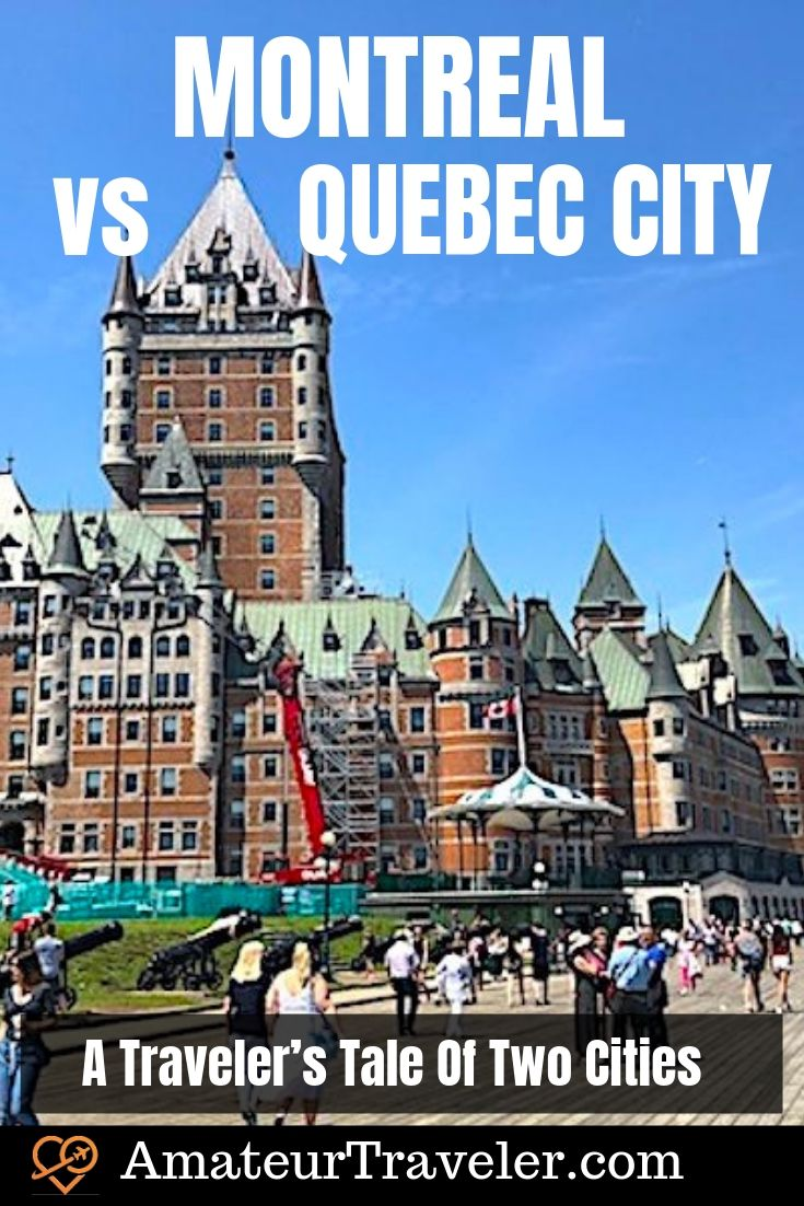 Montreal vs Quebec | What to do in Montreal | What to do in Quebec #travel #trip #vacation #planning #itinerary #montreal #Quebec #quebec-city #canada #what-to-do-in #what-to-see-in