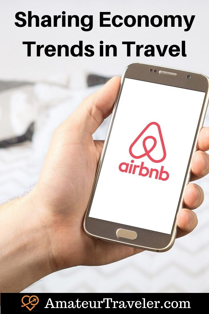 Sharing Economy Trends in Travel #travel #trip #vacation #airbnb #hoeaway #uber #lyft