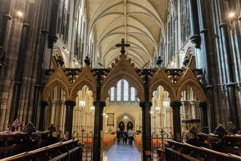 St Patrick's Katedrali Dublin İrlanda