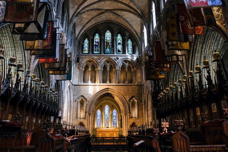 Dublin'deki St Patrick's Katedrali İrlanda