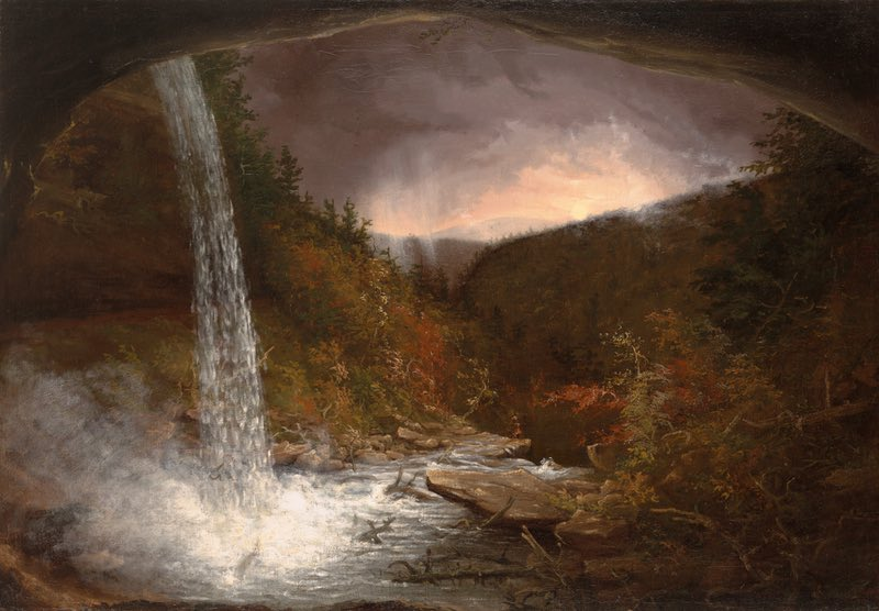 Cole, Thomas. Kaaterskill Falls. 1826