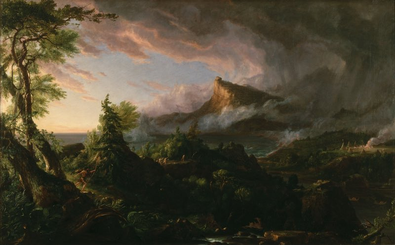Thomas Cole The Course of Empire (1833-1836)