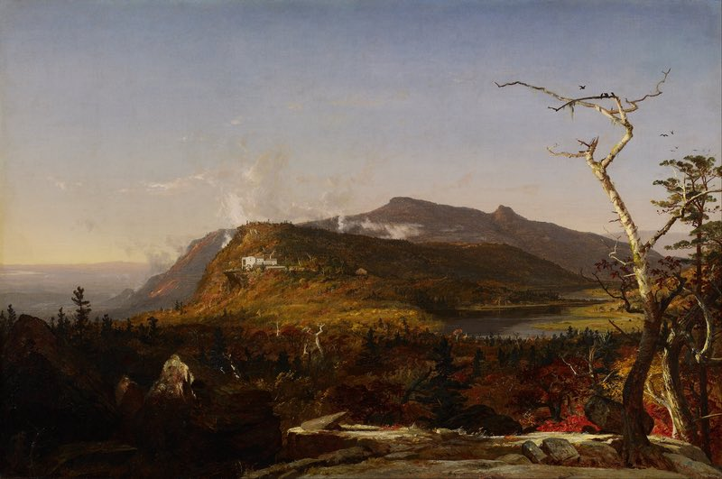 Jasper Francis Cropsey - Catskill Mountain House - Google Art Project