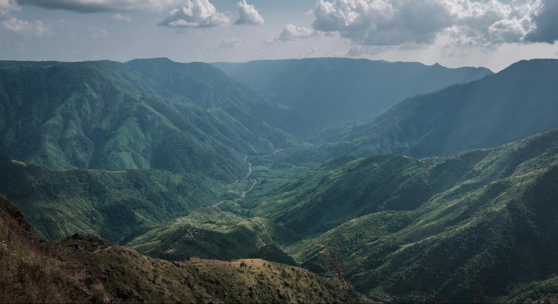Shillong Peak Trek boyunca görüntüleyin