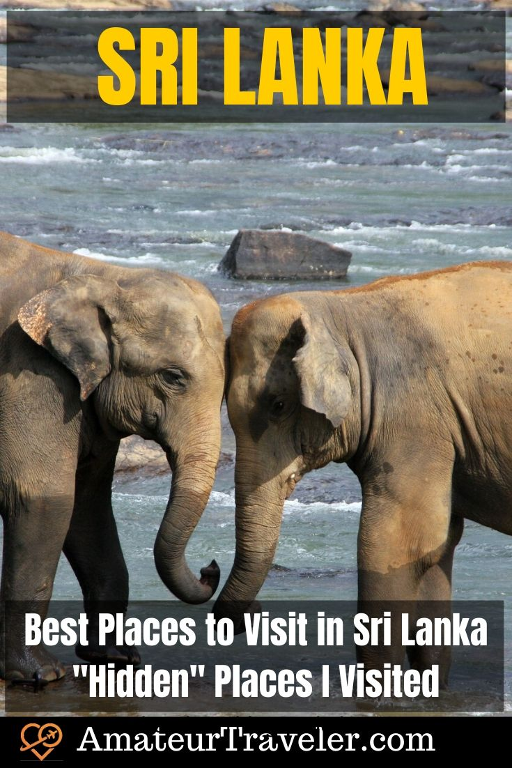Best Places to Visit in Sri Lanka - Hidden Places I Visited #travel #culture #historytrip #vacation #places #sri-lanka #asia #beach #national-park #elephants