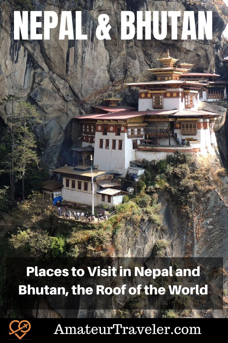Places to Visit in Nepal | Places to Visit in Bhutan | What to do in Nepal | What to do in Bhutan | Tiger's Nest #asia #himalayas #nepal #bhutan #travel #trip #vacation #kathmandu #everest #temples #heritage-site #adventure #food #facts #hiking