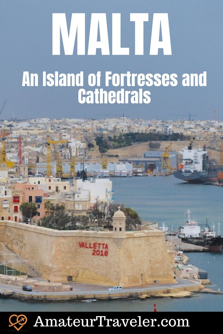 Sightseeing in Malta - An Island of Fortresses and Cathedrals | What to see in Malta | Things to do in Malta #malta #mediterranean #travel #trip #vacation #cities #places #fortresses #things-to-do-in #valletta