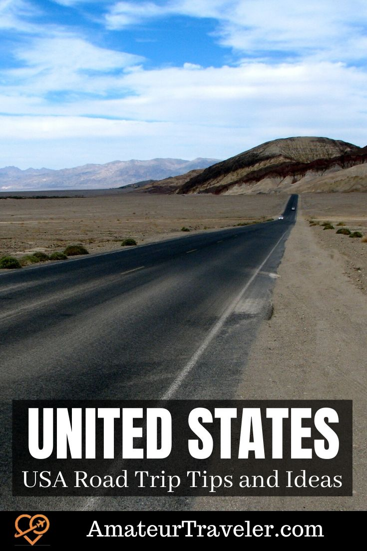 USA Road Trip Tips | USA Road Trip Ideas #USA #travel #trip #vacation #road-trip #car #planning #tips