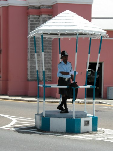 Policeman – Bermuda – Photo Friday