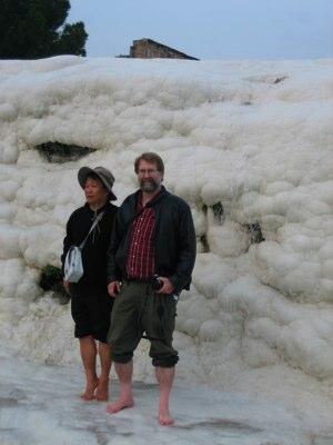 Pamukkale with a Korean Tourist – Photo