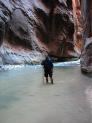 Hike a River – Zion National Park